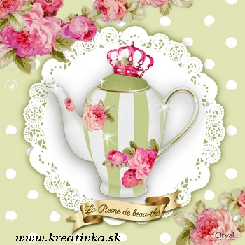 Servítka 33 x 33 cm - Tea Time