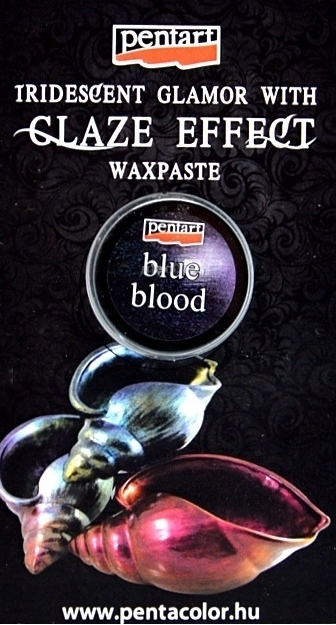 Vosková pasta Glaze 3,5 ml - blue blood