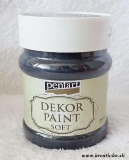 Decor Paint Soft 230 ml - čierna