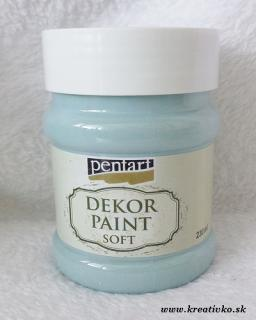 Decor Paint Soft 230 ml - country modrá