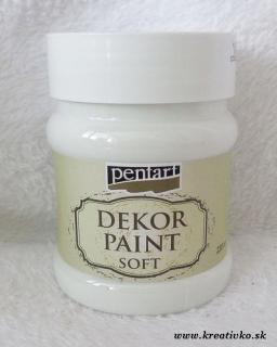 Decor Paint Soft 230 ml - biela