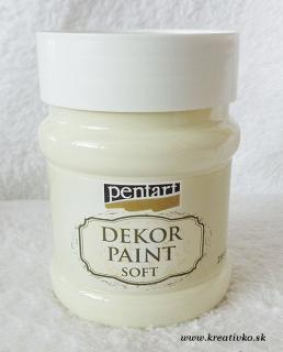 Decor Paint Soft 230 ml - slonovina